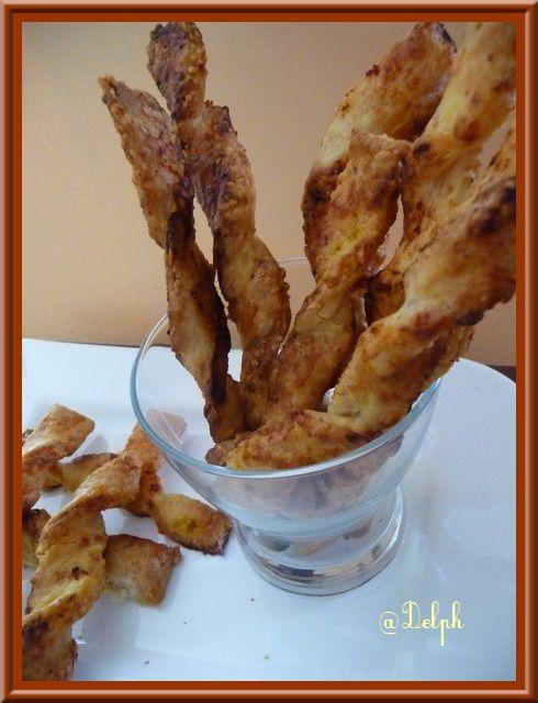 Bâtonnets jambon-fromage