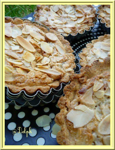 Tartelettes lait de coco amandes