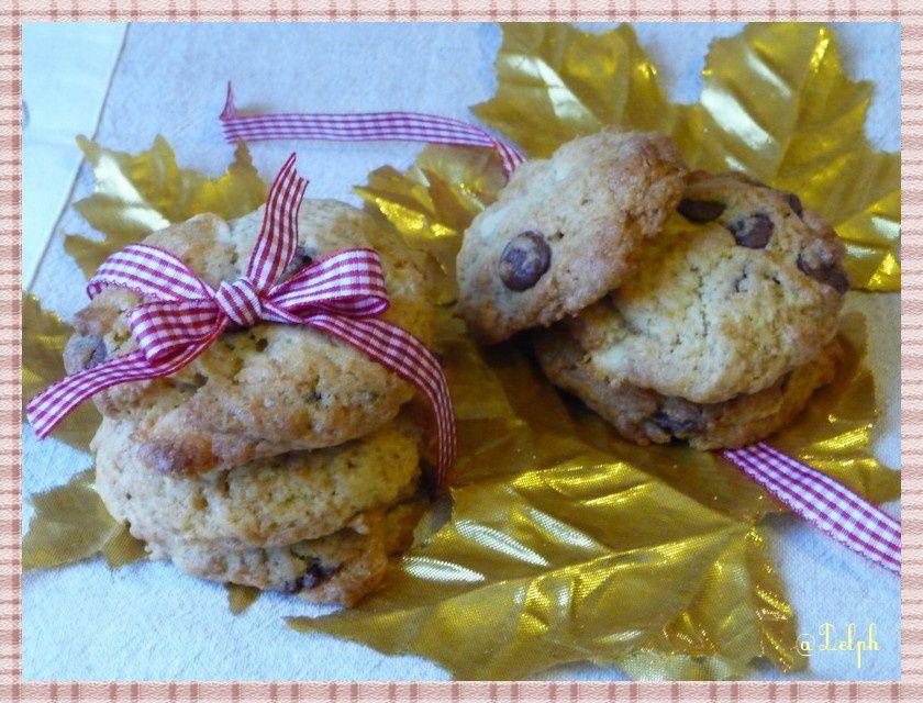 Cookies aux deux chocolats et au sirop d'Erable