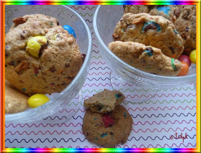 Cookies aux  m&amp&#x3B;m's
