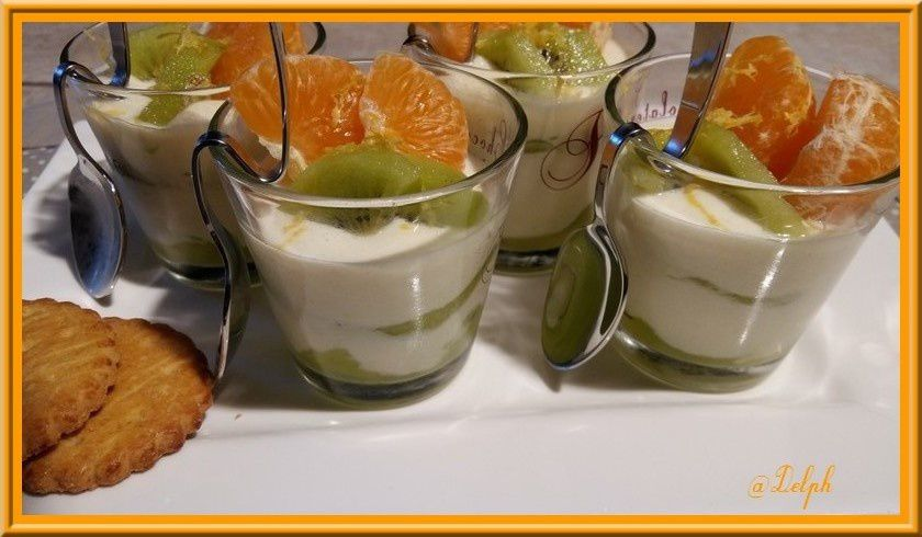 Mousse citronnée légère
