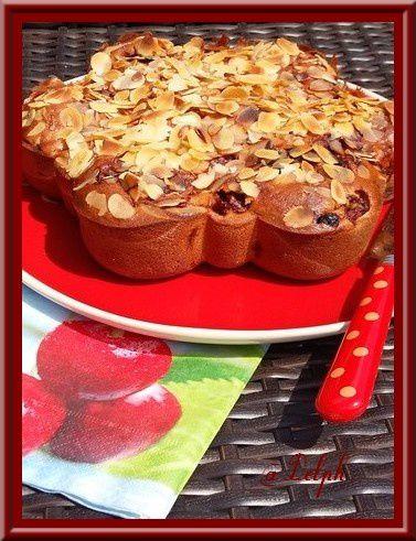 Gâteau à l'Amande et Cerises