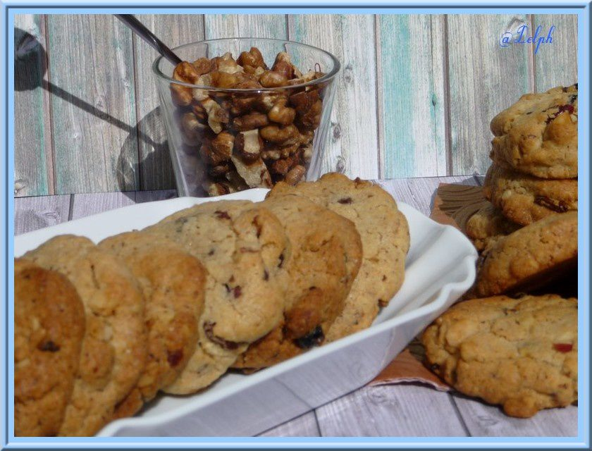 Cookies aux fruits secs