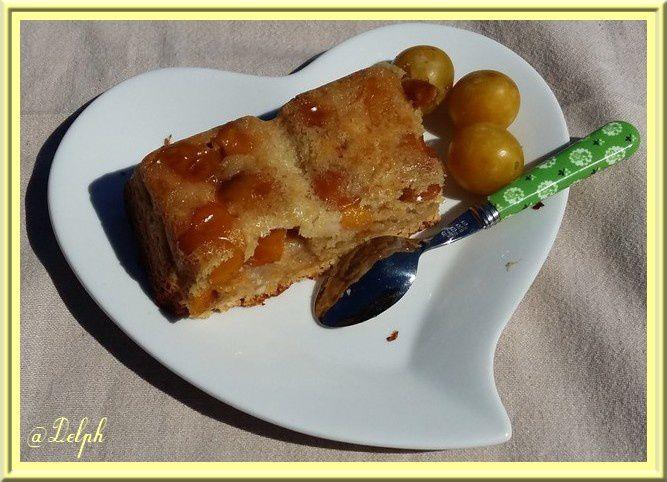 Gâteau aux mirabelles