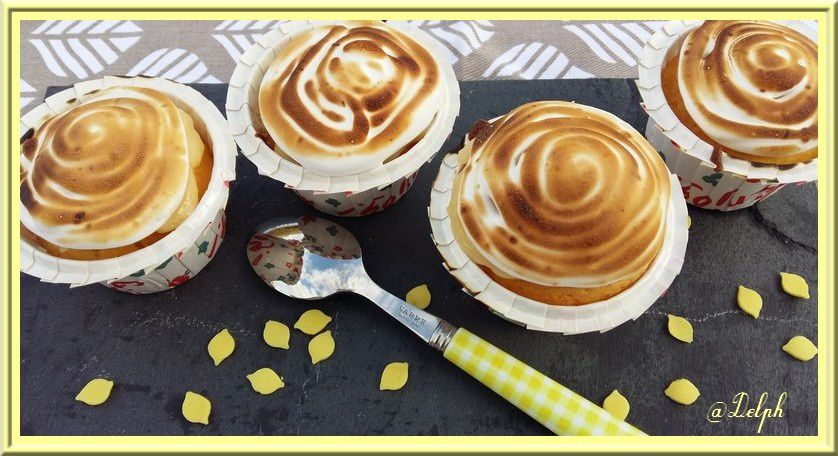 Muffins au Lemon Curd