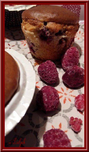 Cake au Fromage Blanc et aux Framboises