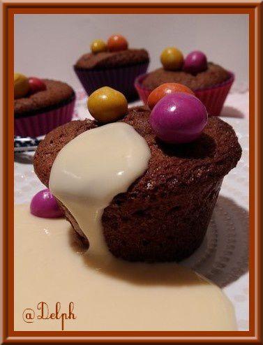 Petits Gâteaux au chocolat aux M&amp&#x3B;M's
