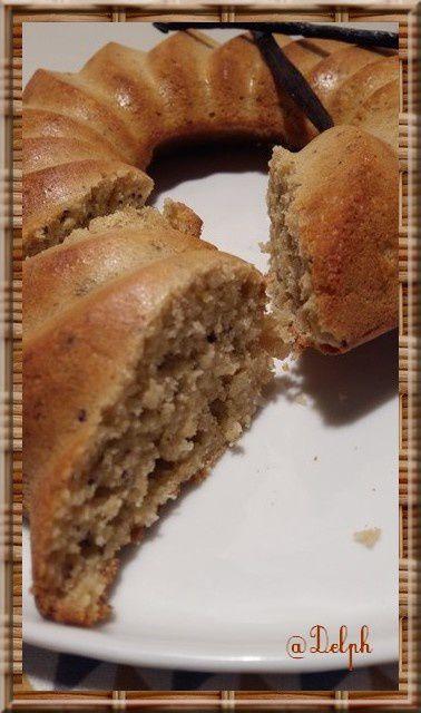 Gâteau coco vanille