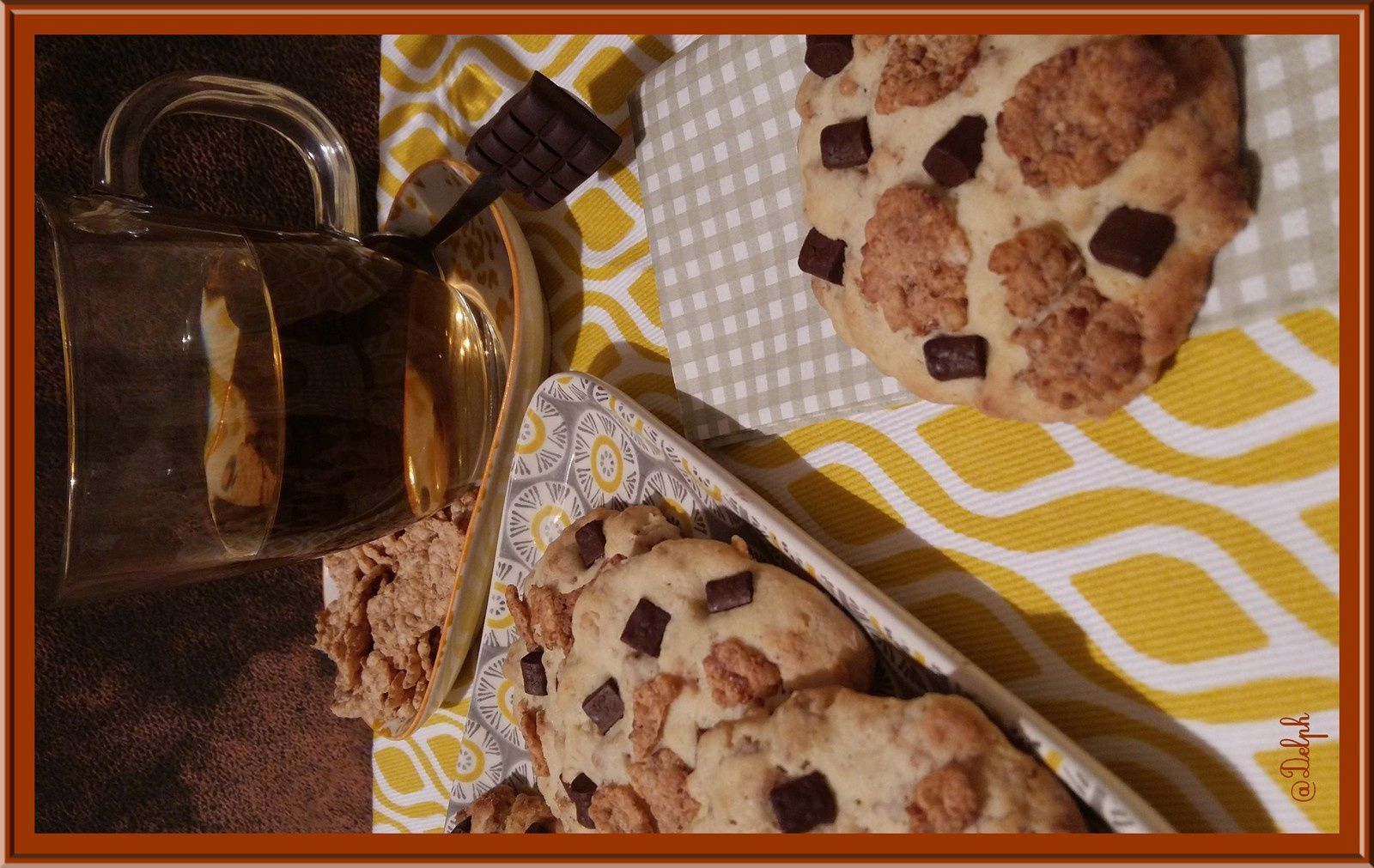 Cookies aux Corn flakes