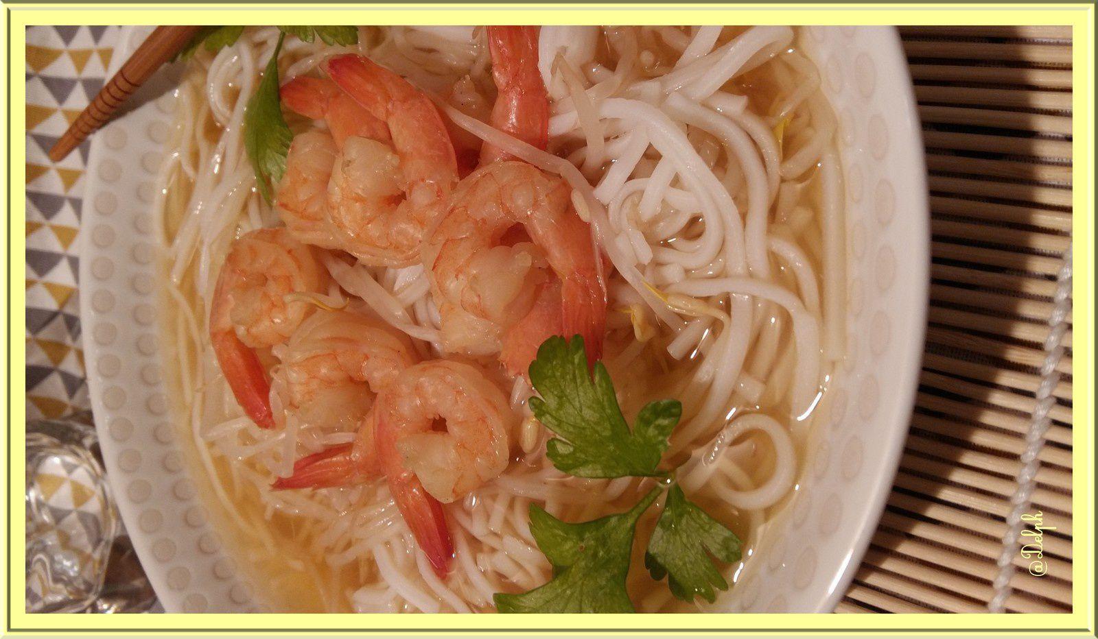 Soupe Pho Vietnamienne