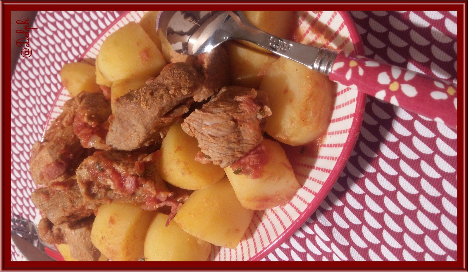 Sauté de Veau au Bacon et Tomate
