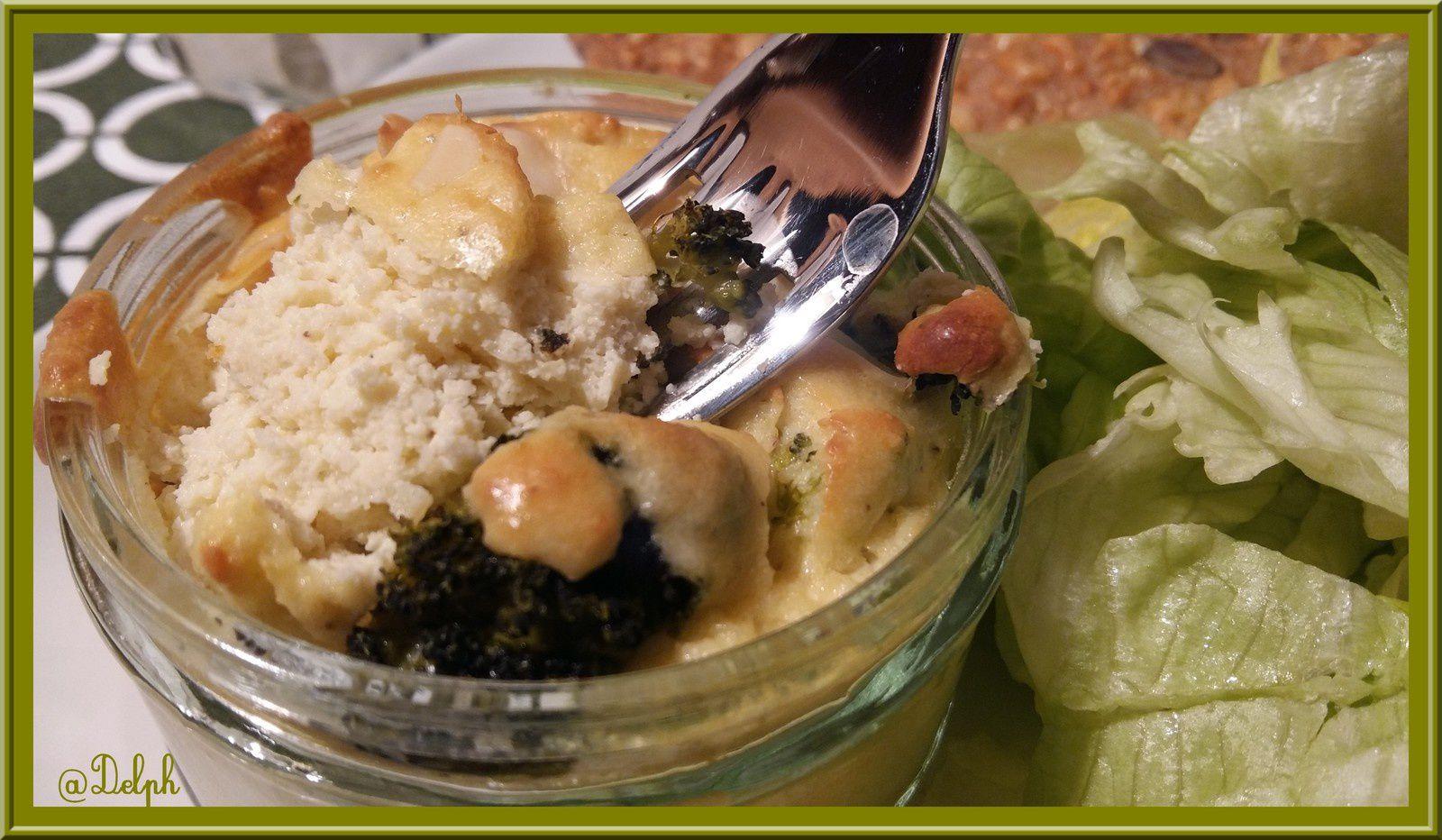Flan aux brocolis et aux amandes