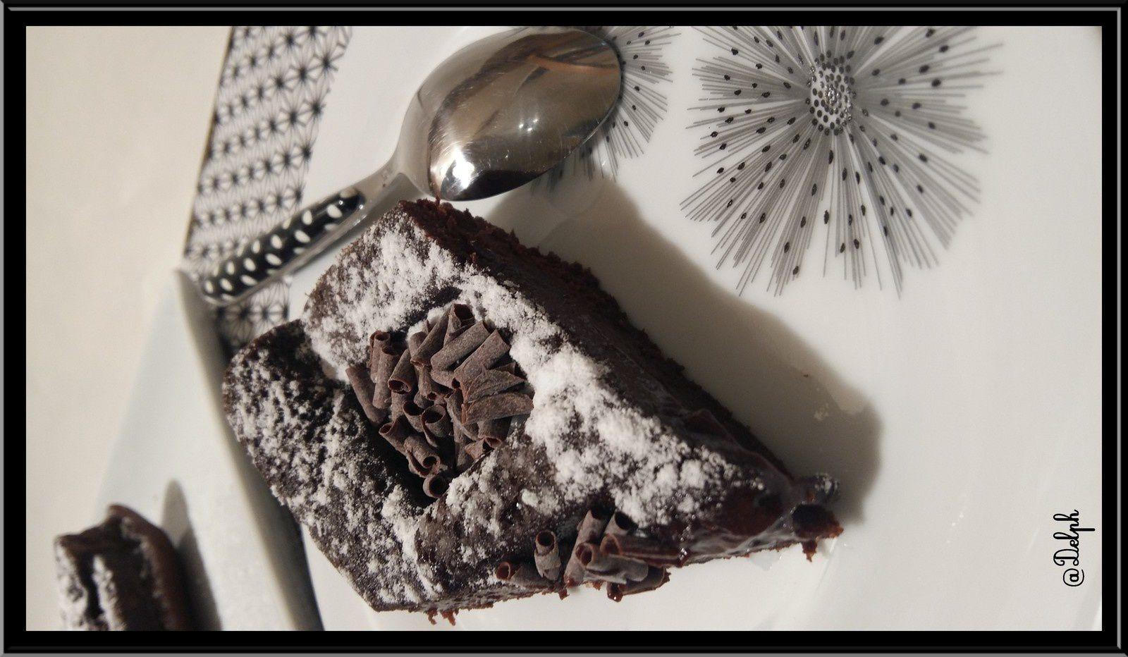 Fondant  au chocolat et à la farine de Châtaigne
