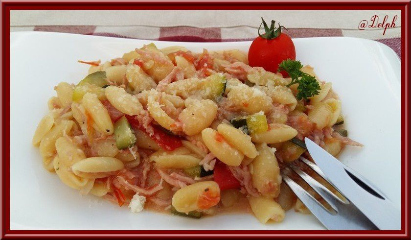 One pot pasta au thermomix