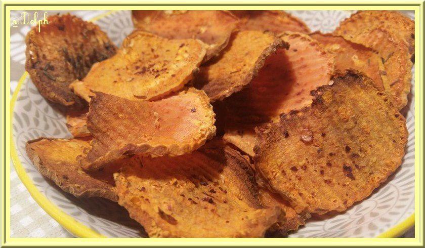 Chips de patate douce