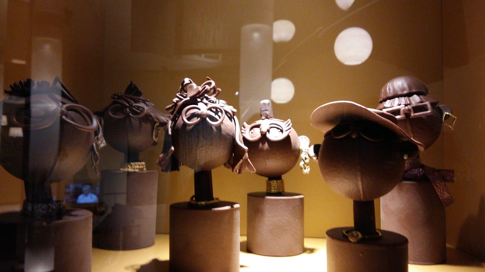 Visite à la Cité du Chocolat  Valrhona