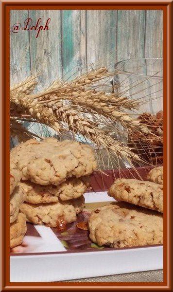 Cookies aux Snickers et Noix de Pécan