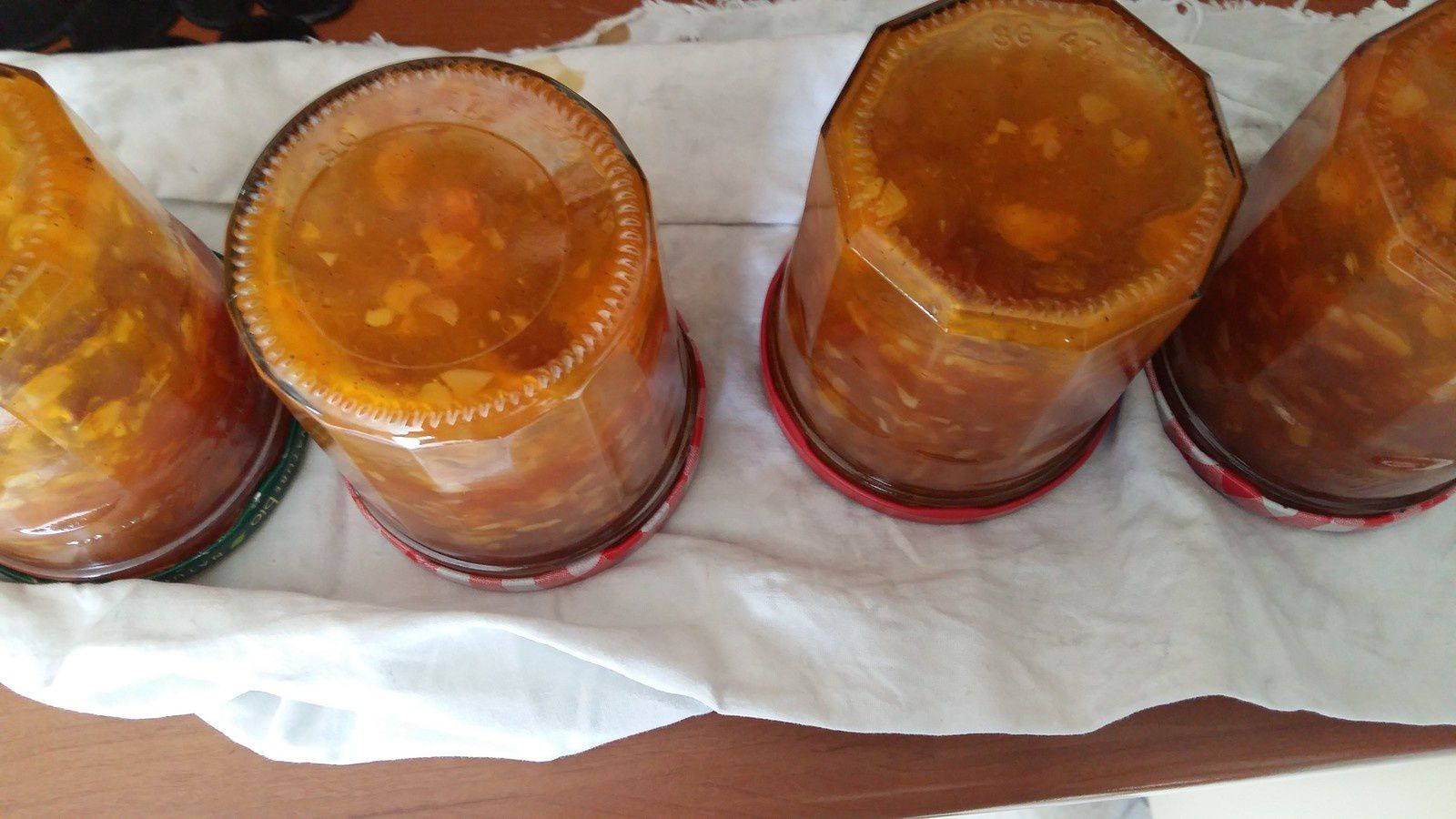 confiture abricot vanille thermomix