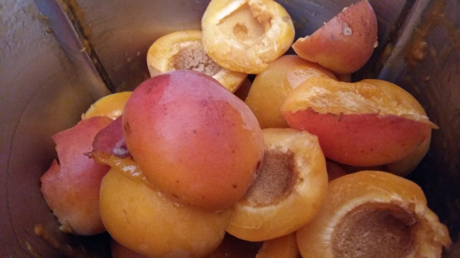confiture abricot vanille amande thermomix