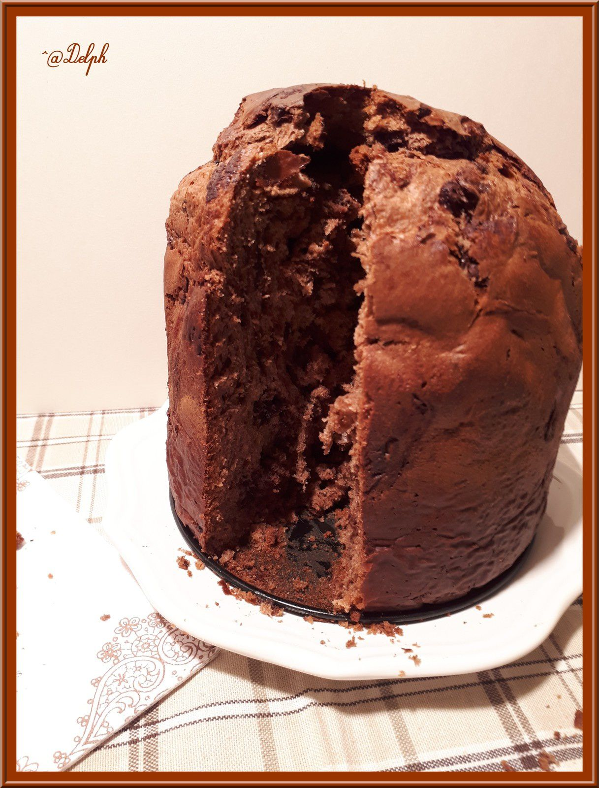 panettone recette thermomix