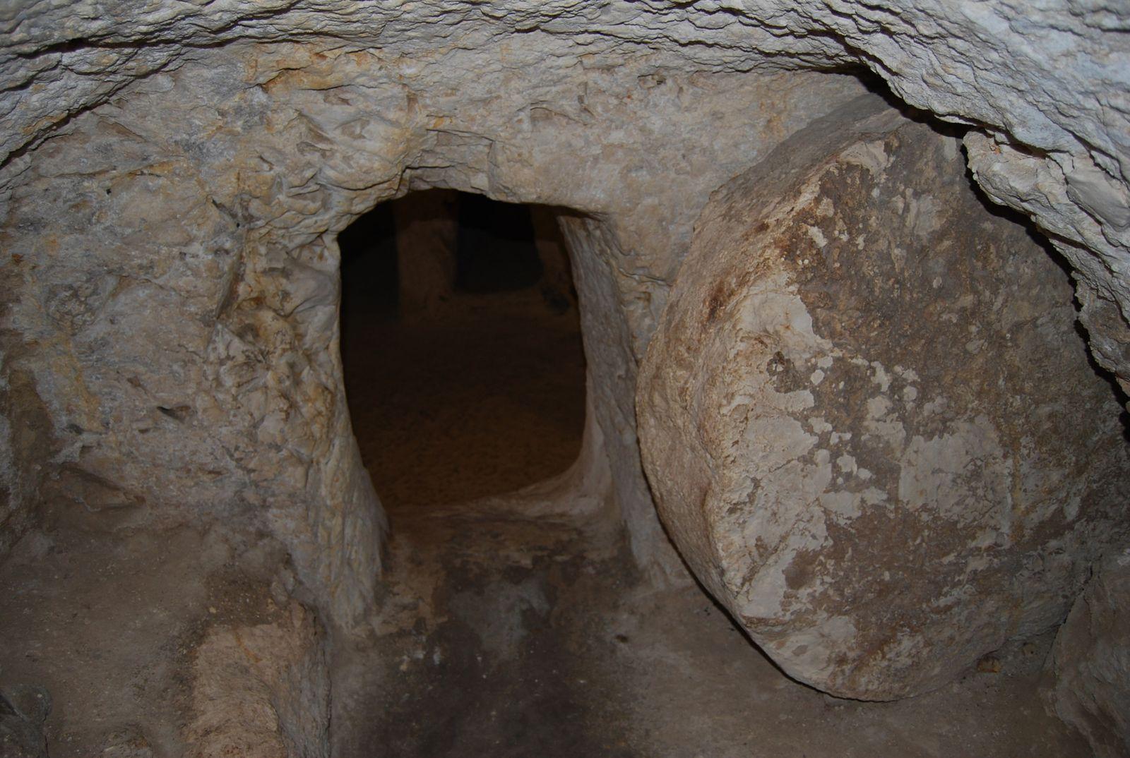 Tombeau semblable à celui où le Christ a été enseveli