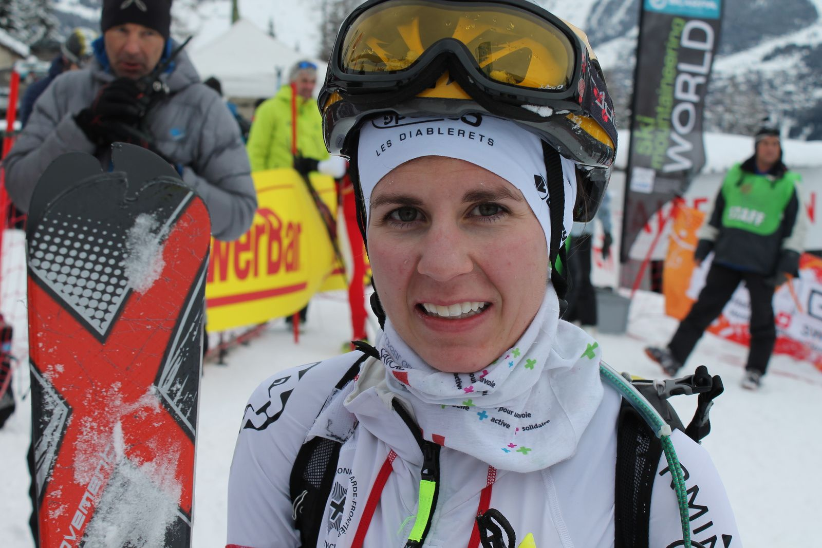 Toujours présente, régulière et très performante, Jennifer Fiechter en quête de nouvelles médailles