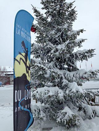 La neige est bel et bien là du côté de Crans-Montana.
