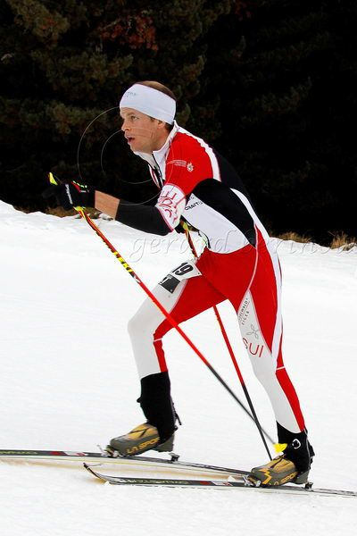 Werner Marti peut viser le haut du tableau à Davos, sur la course individuelle (Crédit photo: Gérard Berthoud)