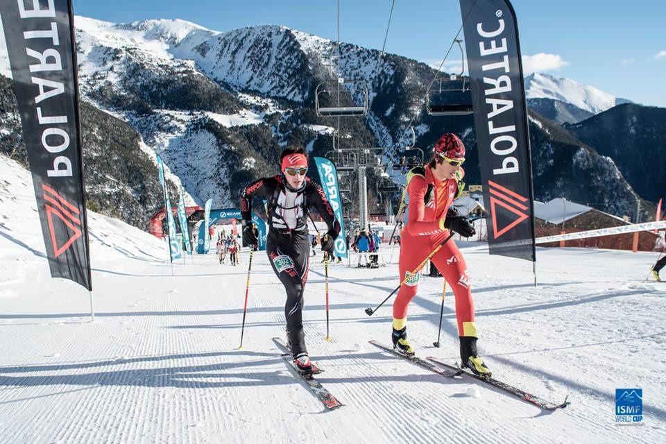 A Andorre, Arnaud Gasser (en noir) a réussi une brillante performance (photo: ISMF)