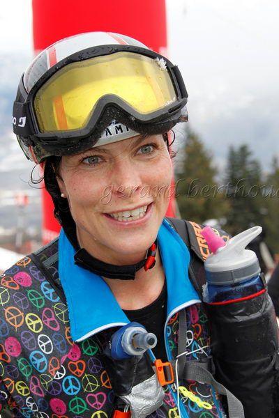 Ilona Chavaillaz pratique le ski-alpinisme depuis 4 ans (crédit photo: Gérard Berhoud)