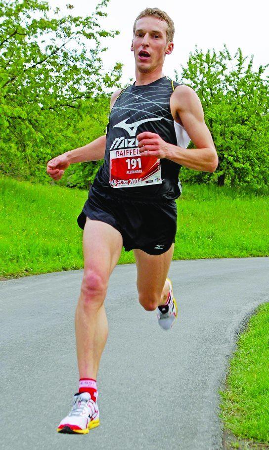 En ce début de printemps, Alex Jodidio se concentre sur les championnats suisses de 10 km sur route (photo: G. Berthoud/A)