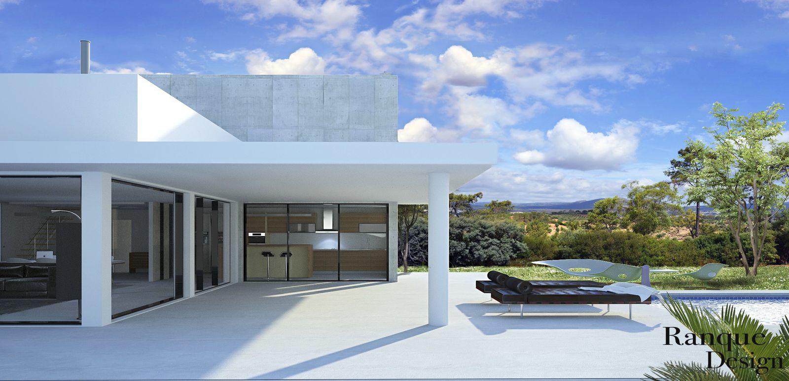 suite cr ation maison ramatuelle. Black Bedroom Furniture Sets. Home Design Ideas