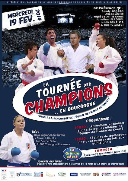 Tournée des Champions Mercredi 19 février