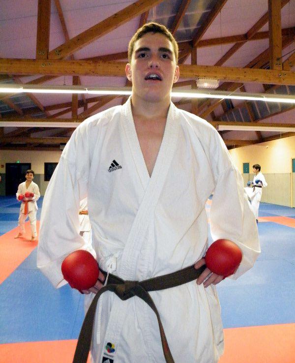 Loïc MAROIS aux Championnats de France Juniors.
