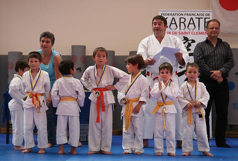 FIN de Saison pour l'école de Karaté
