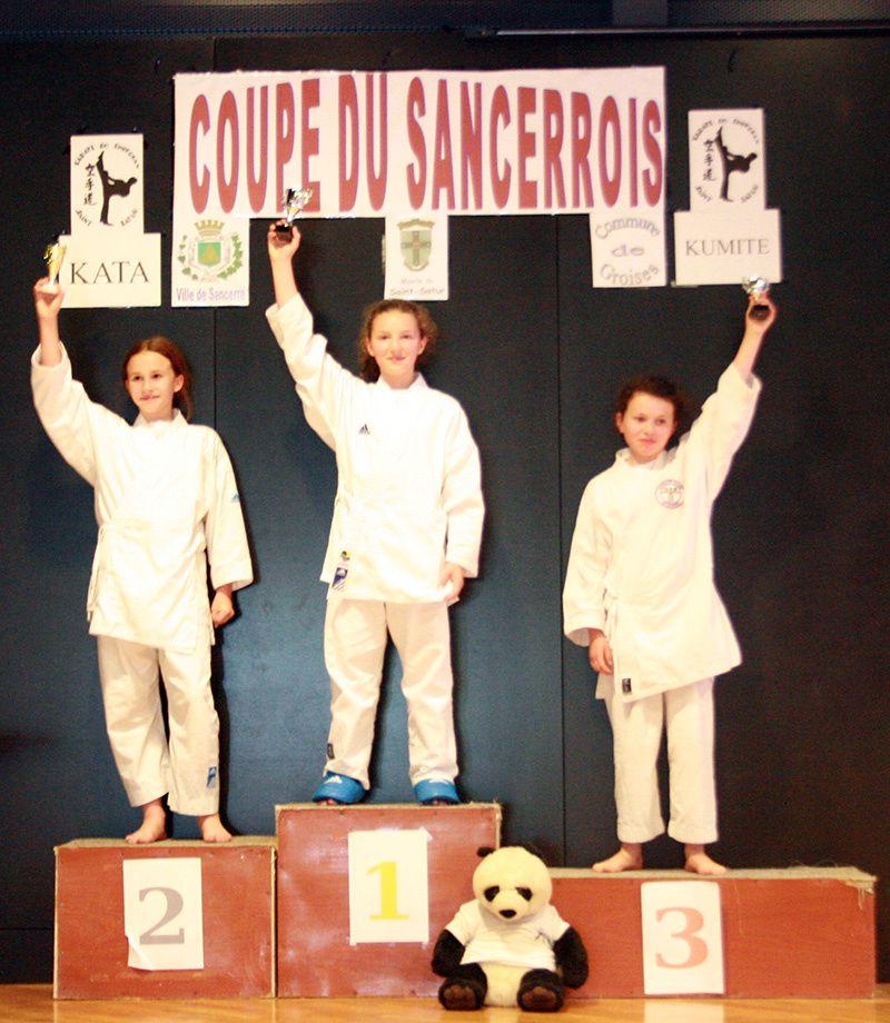 5 médailles à la Coupe du Sancerrois