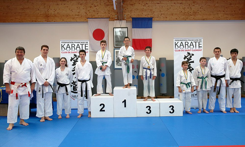 club karate st clement