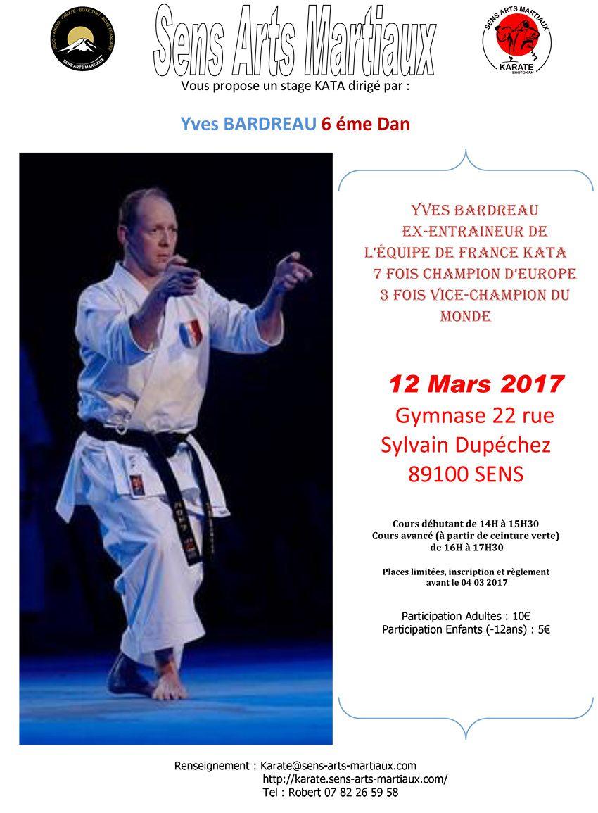 Stage KATA Yves BARDREAU