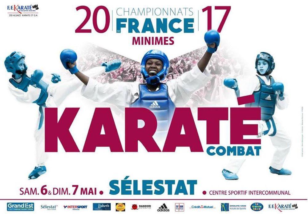 Steeve BALAIRE aux championnats de France minimes