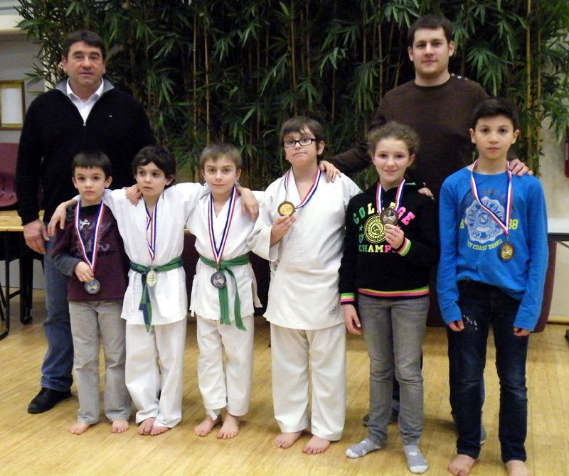 17 médailles en championnats de Bourgogne