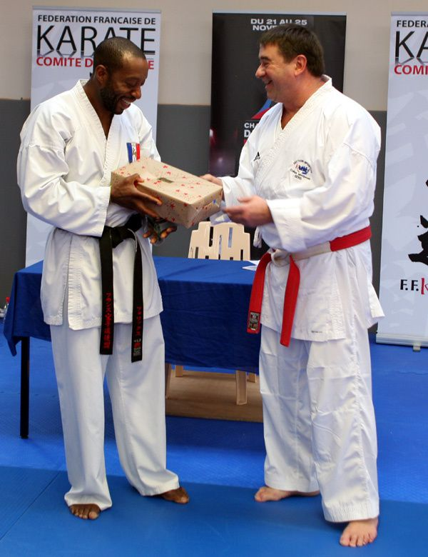 Stage au Dojo avec le double Champion du Monde David FÉLIX