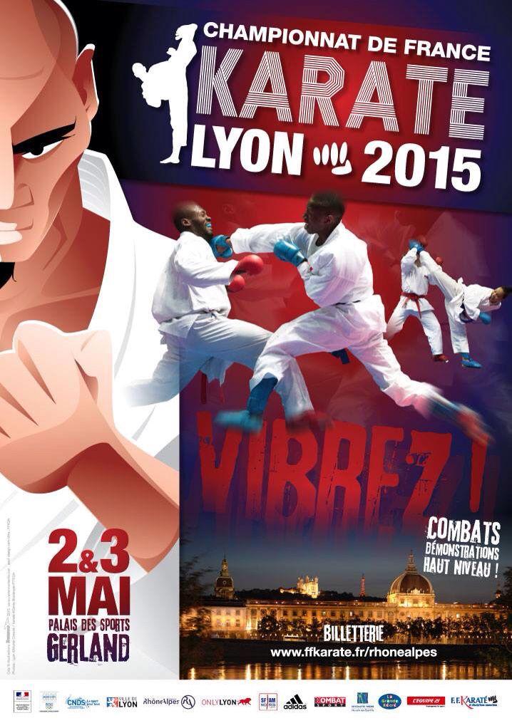 Lyon, capitale du Karate seniors