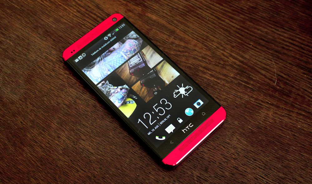 mein neues Smartphone: das HTC one red + giveaway