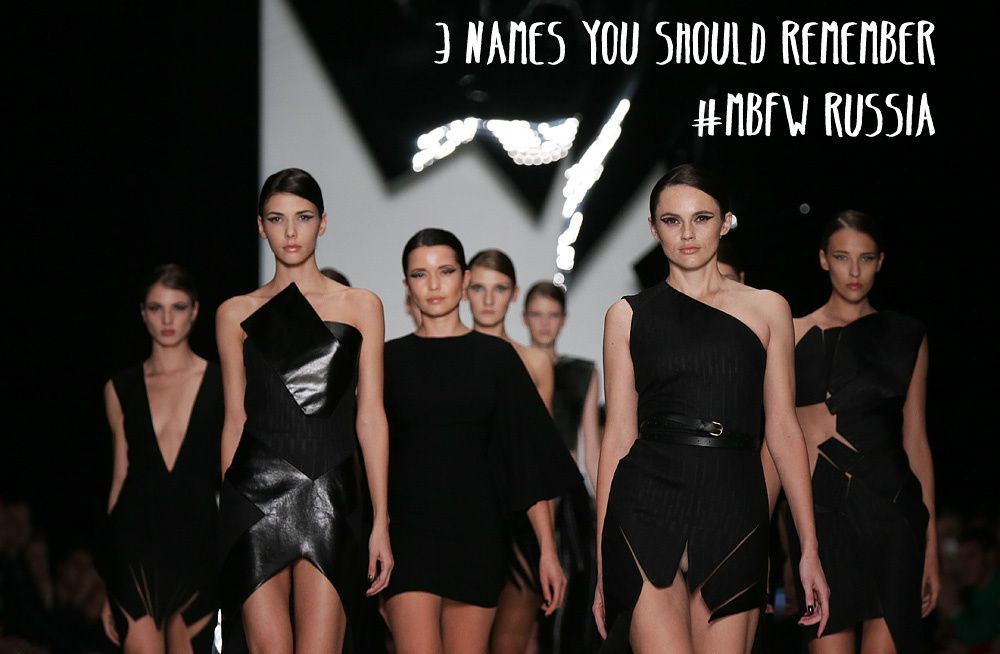 MBFW Russia: 3 of the best collections for Spring/Summer 2014