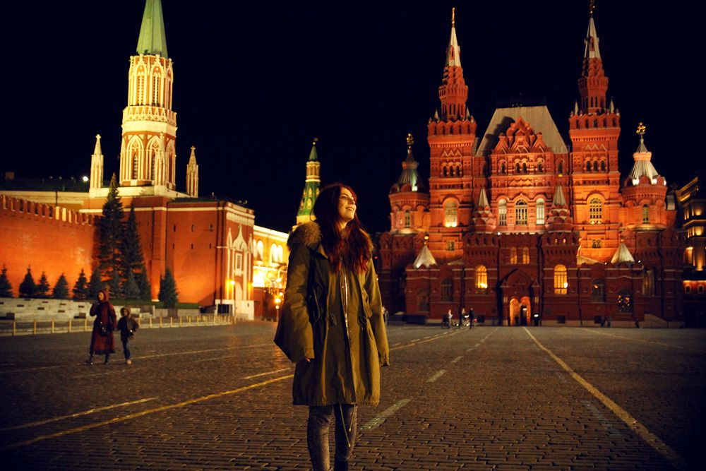 Moscow - the city that never sleeps