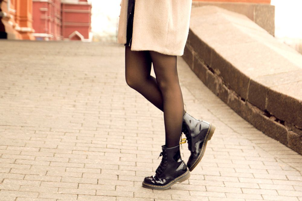 Outfit: casual in Moscow