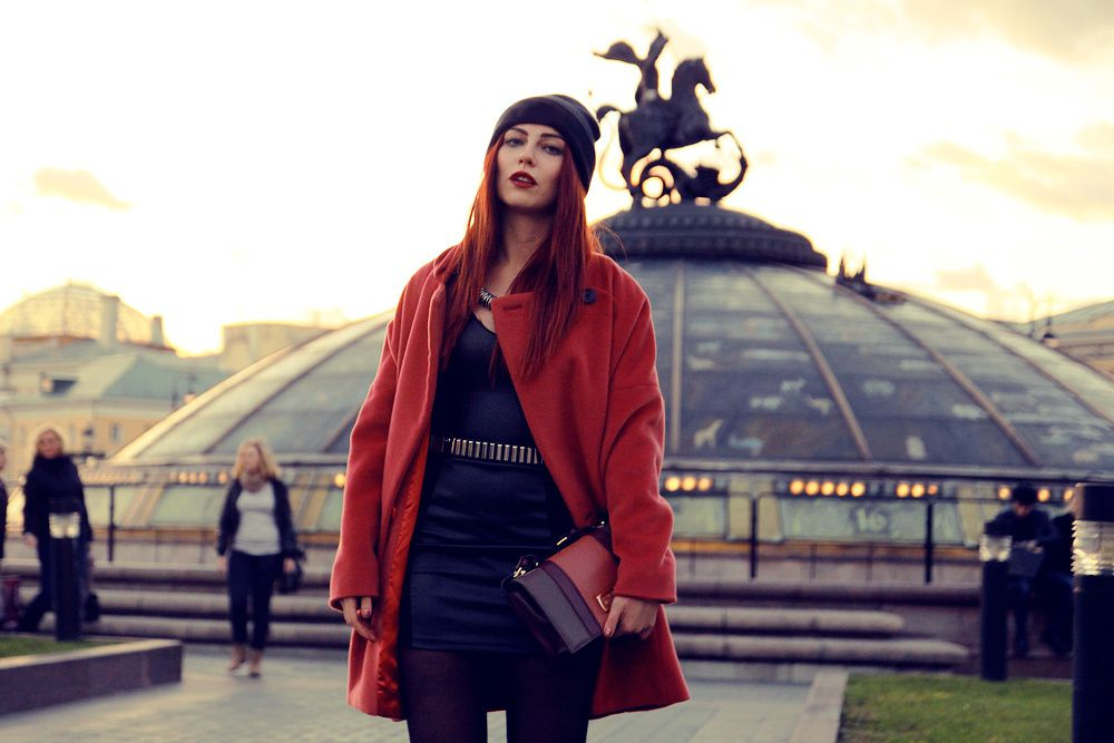 Outfit: Moscow changed my style.