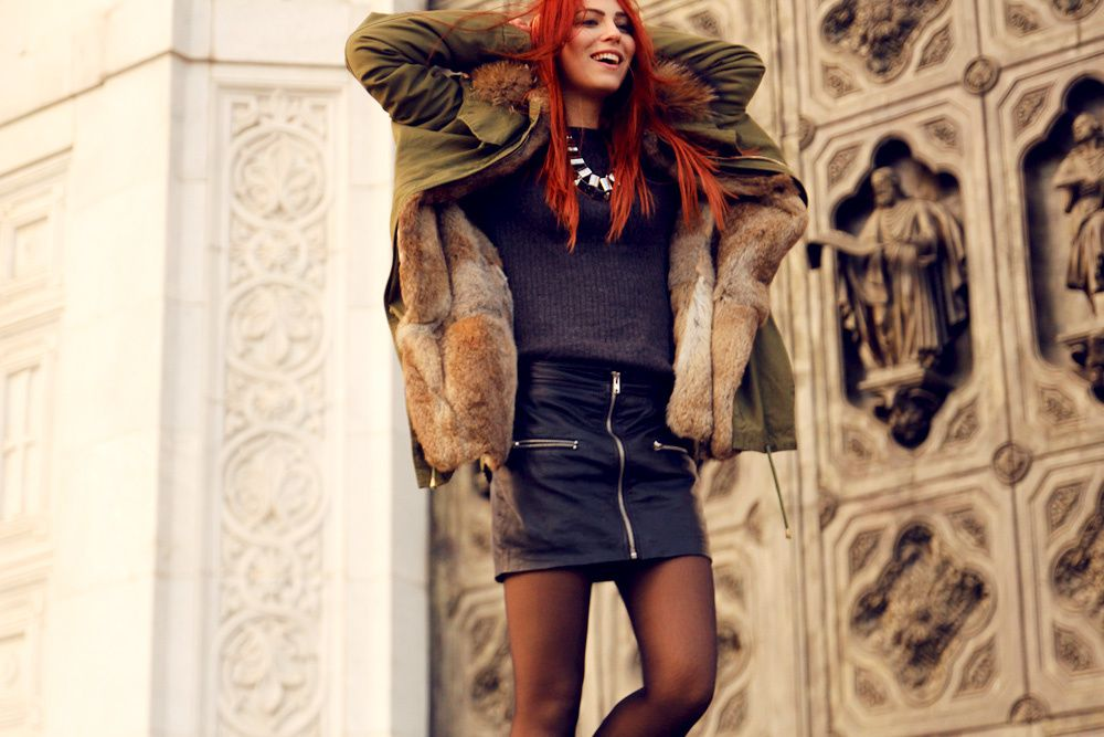 Outfit: the perfect parka for very cold days
