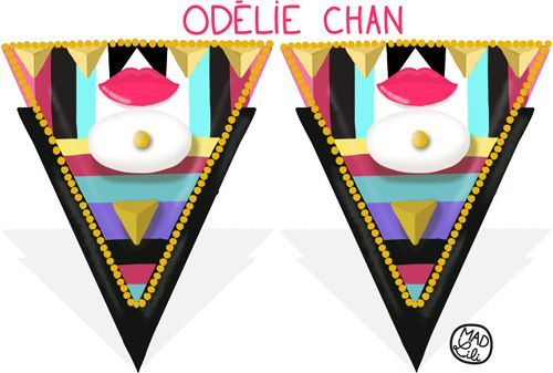 Kiss My Melody x Odélie Chan is on line