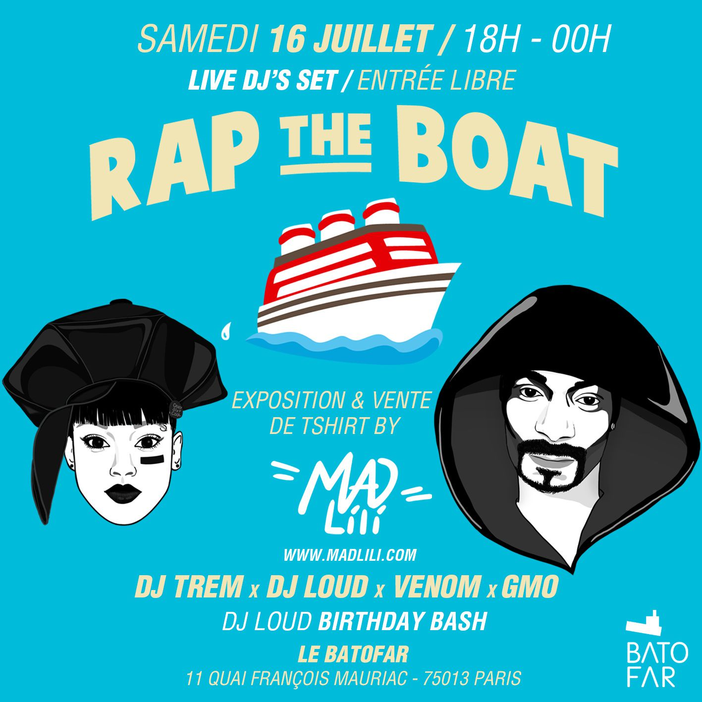 """Rap The Boat """"Summer Time"""""""